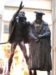 Figurenpaar in Leipzig